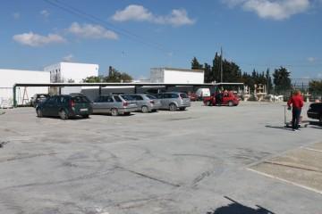 Vista aparcamientos